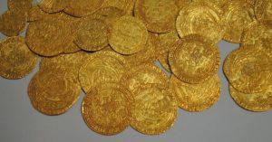 Metalldetektor Test Münzen